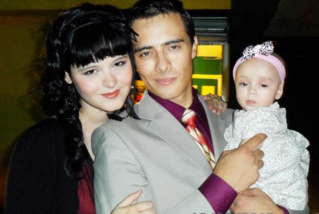 Allisson Lozz se casó y tuvo una bebé.