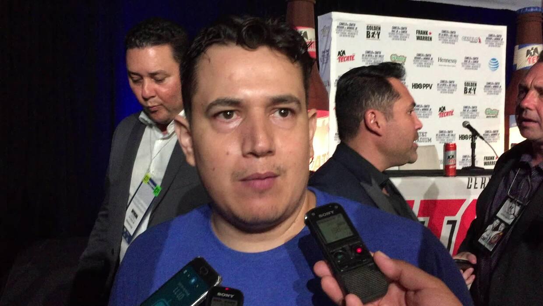 """Eddy Reynoso: """"Estamos listos para Golovkin"""""""