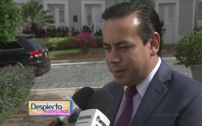 El secretario de Gobernación habla sobre la posibilidad de que Rosselló...
