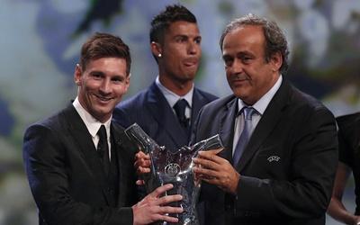 Leo Messi ganó el premio al mejor jugador de Europa en 2015