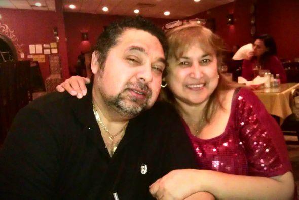 Carmen nos envió esta romántica imagen para agradecer a su marido Víctor...