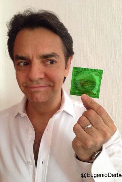 """Eugenio Derbez también se  """"puso la verde"""". Todo sobre..."""