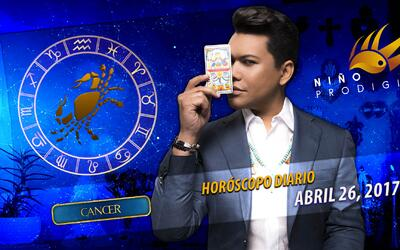 Niño Prodigio - Cáncer 26 de abril 2017