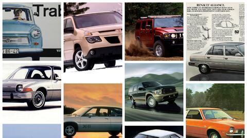 Los 15 peores autos de los últimos 50 años