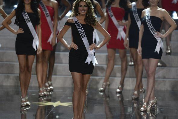 El top ten de las finalistas estuvo integrado por España, Filipinas, Gra...