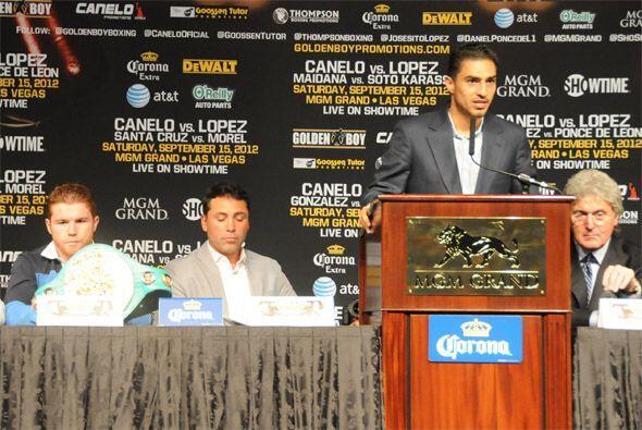 Josesito sube 16 libras de su peso natural para esta pelea, pero él dice...