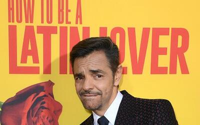 Eugenio Derbez en la premier de 'How to be a Latin Lover'