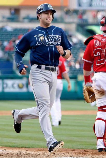 Evan Longoria, tercera base de los Rays y de ascendencia española, nos h...
