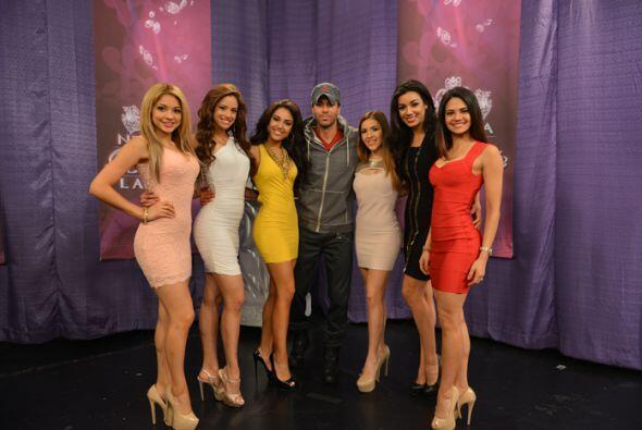 Obviamente no podía faltar la foto del recuerdo con las seis chicas que...