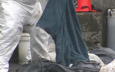 Siguen hallando en un basurero de El Bronx los restos de una mujer que f...