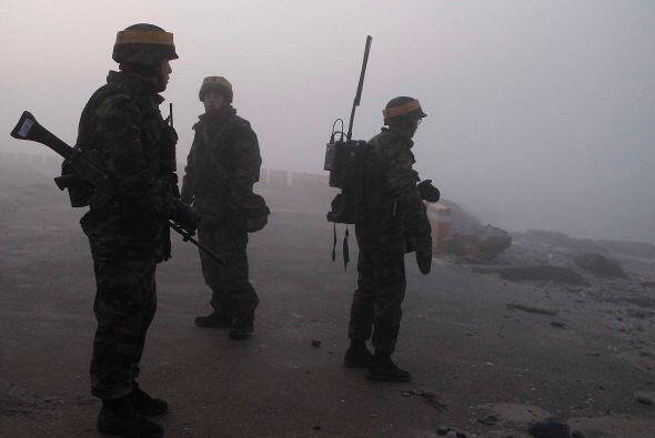 Por su parte los países de China y Rusia criticaron las maniobras...
