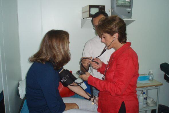 Ambos pacientes fueron tratados en la clínica del doctor Fern&aac...