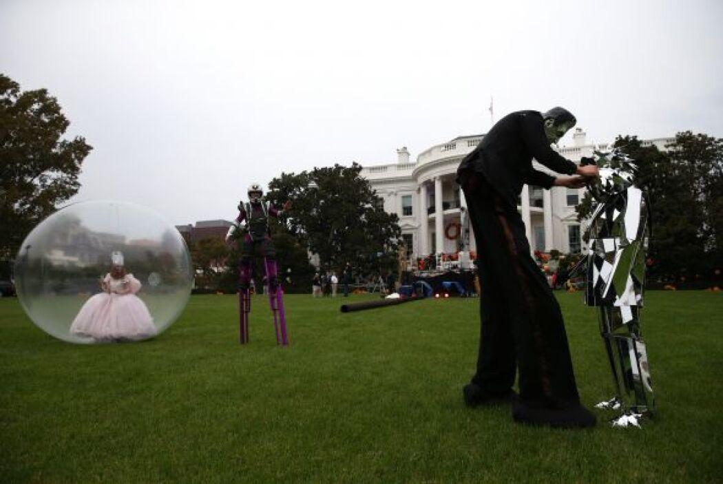 La Casa Blanca dijo que el presidente Barack Obama y la primera dama Mic...