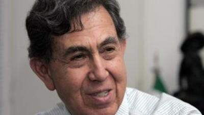 El líder histórico de la izquierda mexicana, Cuauhtémoc Cárdenas.
