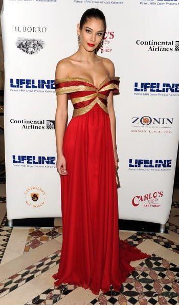 Dayana Mendoza es una latina que dejó ver su buen gusto por la moda desp...