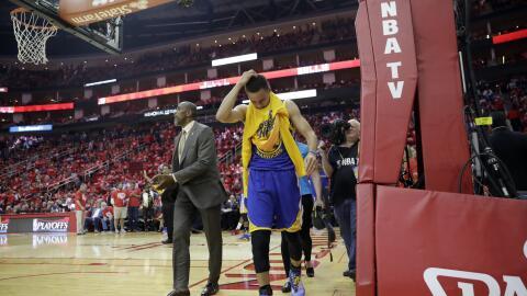 Curry se perderá 2 semanas por esguince