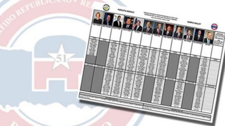Primarias republicanas en Puerto Rico