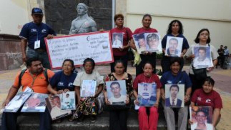 Migrantes desaparecidos en México (Imagen de Archivo).