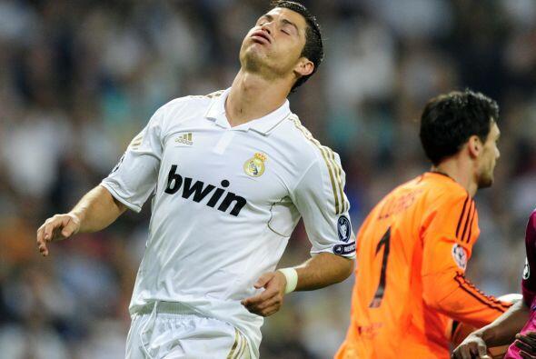 Cristiano Ronaldo buscó su gol pero no tuvo suerte. El portugu&ea...
