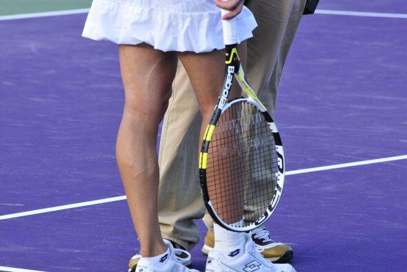 Por su parte, la italiana Francesca Schiavone lució sus musculosa...