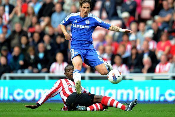 Finalmente Torres ingresó en la segunda mitad pero no pudo conver...