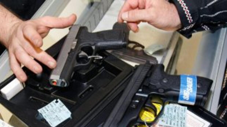 El tráfico de armas en la zona de frontera es cada vez más común.