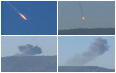 Cuatro momentos del derribo del avión militar ruso en Turquía