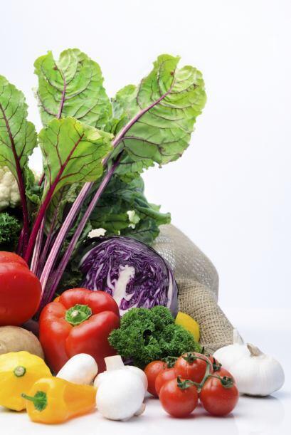 Verduras: remolacha, pimiento, brócoli, col de Bruselas, repollo, zanaho...