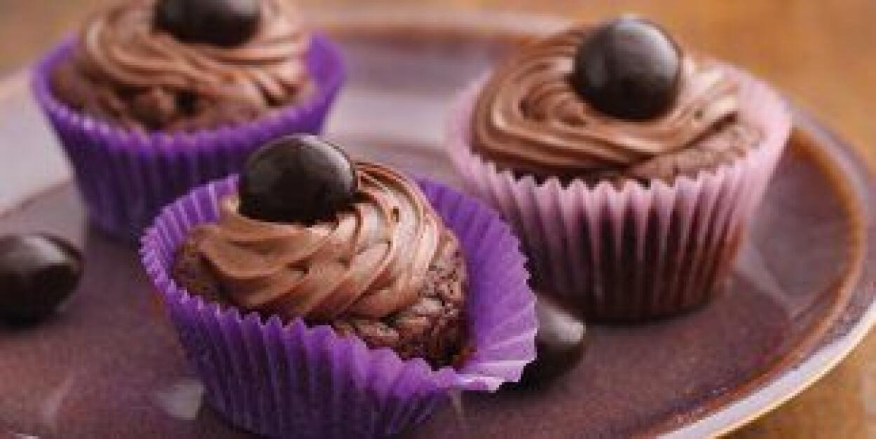 Copa de galletas de chocolate y capuchino: Para los amantes del chocolat...