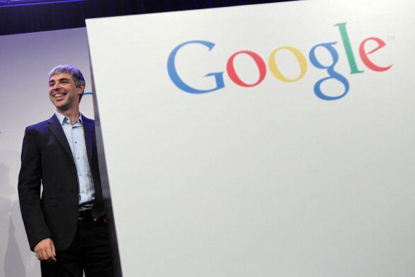 6. LARRY PAGE. El CEO de Google es uno más de los hombres que se asignó...