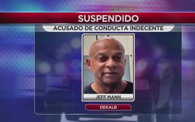 Alguacil de DeKalb suspendido por conducta indecente