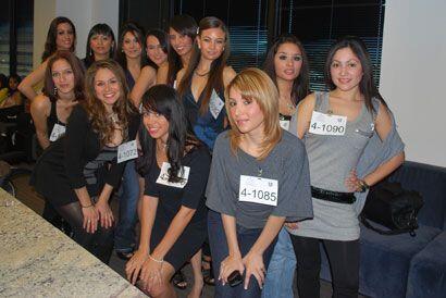 En la audición llegaron chicas de Houston y de varias ciudades del estado.