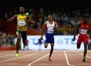 El velocista jamaiquino conquistó los 200 metro con tiempo de 19.55 segu...