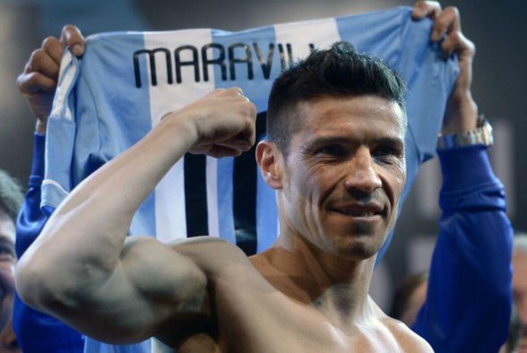 Argentina tiene los ojos en Sergio 'Maravilla' Martínez.