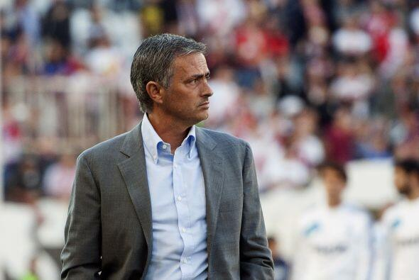 El entrenador José Mourinho lucía tranquilo.
