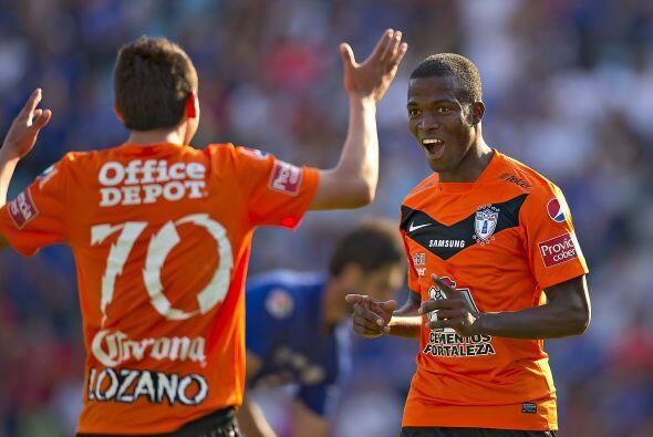 Lozano ha hecho una gran mancuerna en ataque junto a Valencia y se ha co...