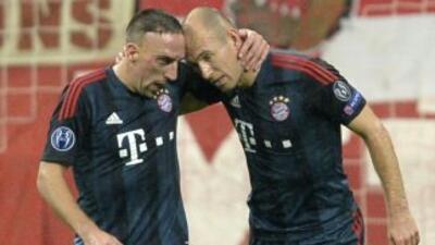 Robben espera que su compañero en el Bayern sea el ganador del premio de...