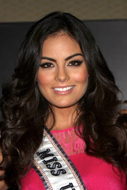Todos la conocíamos porque fue Miss Universo.