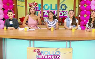 """Mini Sin Rollo ni Tapujos: Cuatro niños opinaron acerca del """"bullying"""" y..."""