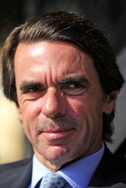 El ex presidente de España José María Aznar tampoco...