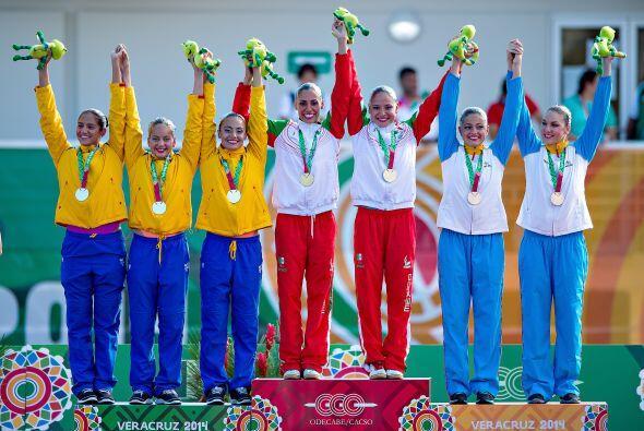 México encabeza el medallero con 138 preseas: 52 de oro, 38 de plata y 4...