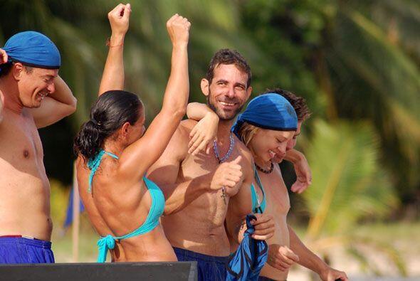 Las Barracudas estaban felices de salir de Playa Baja, donde han sufrido...
