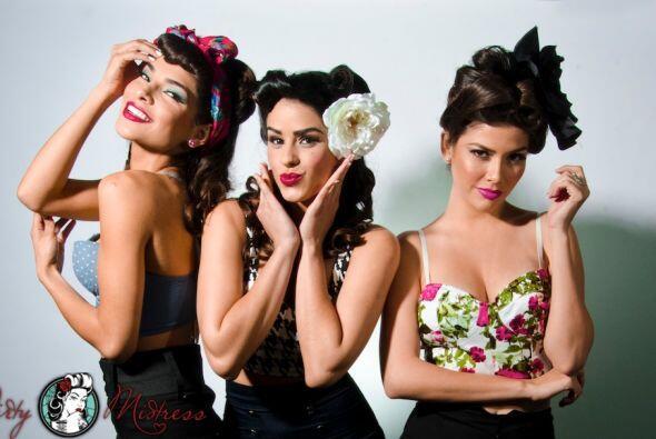 Alejandra Espinoza, Vanessa De Roide y Ana Patricia González se u...