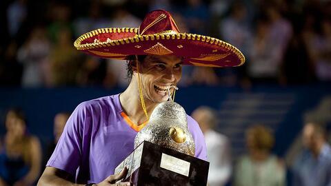 Nadal ya fue campeón en México en un par de ocasiones.