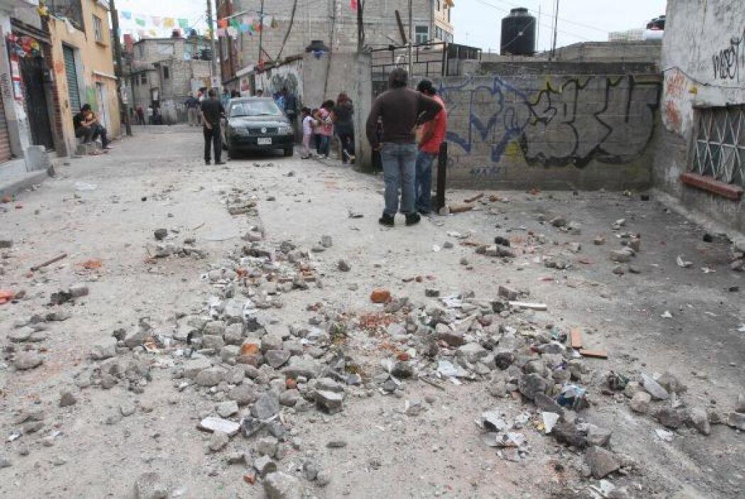 Los habitantes del San Bartolo Ameyalco, en la Ciudad de México, se han...