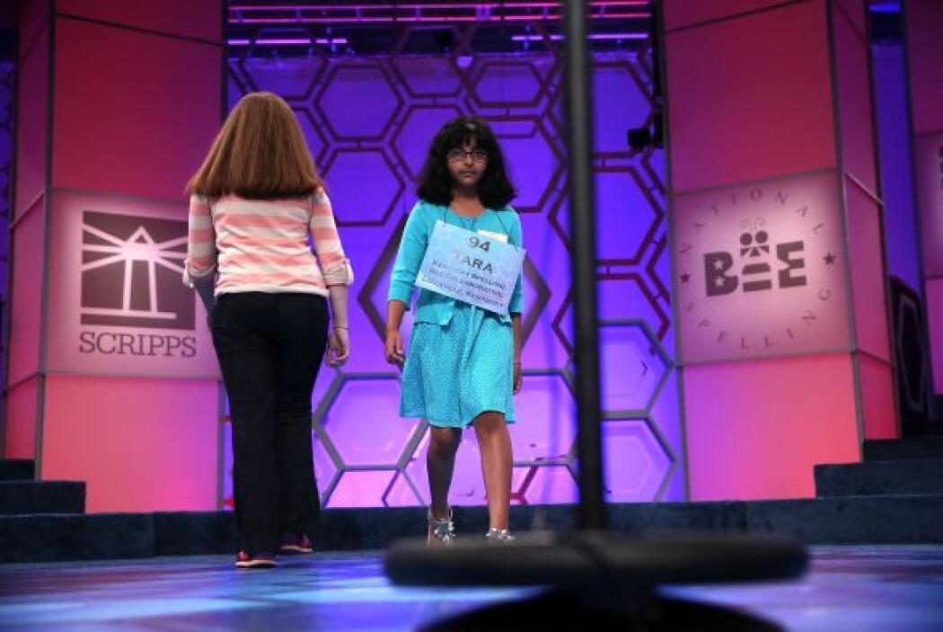 La niña de ocho años Tara Singh, de Louisville, Kentucky, fue la concurs...