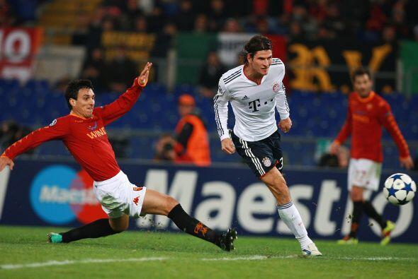 En Alemania, el Bayern Munich recibía a una Roma urgida de puntos si que...