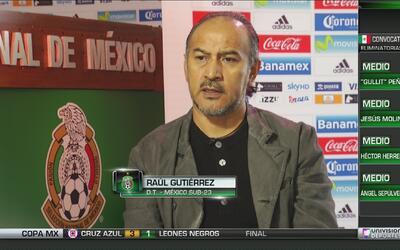 """'Potro' Gutiérrez: """"Estoy en espera de decisiones de la Selección Mayor..."""