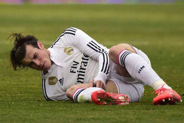 Gareth Bale y otras figuras blancas fueron víctimas del juego ríspido al...