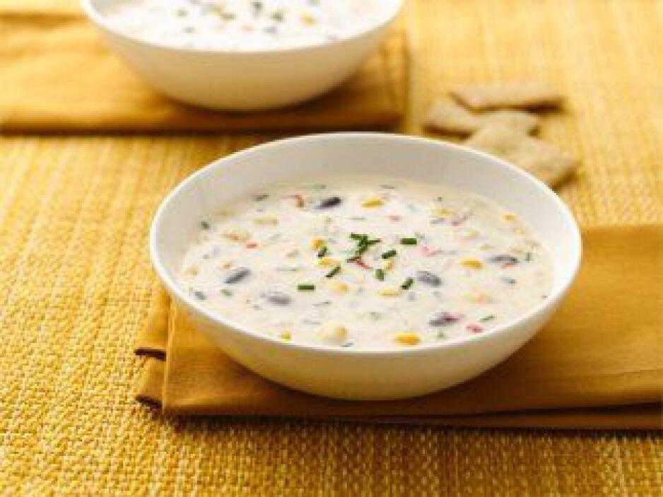 Cremosa sopa de elote del suroeste: ¿Se te antoja una sopa? Disfruta un...